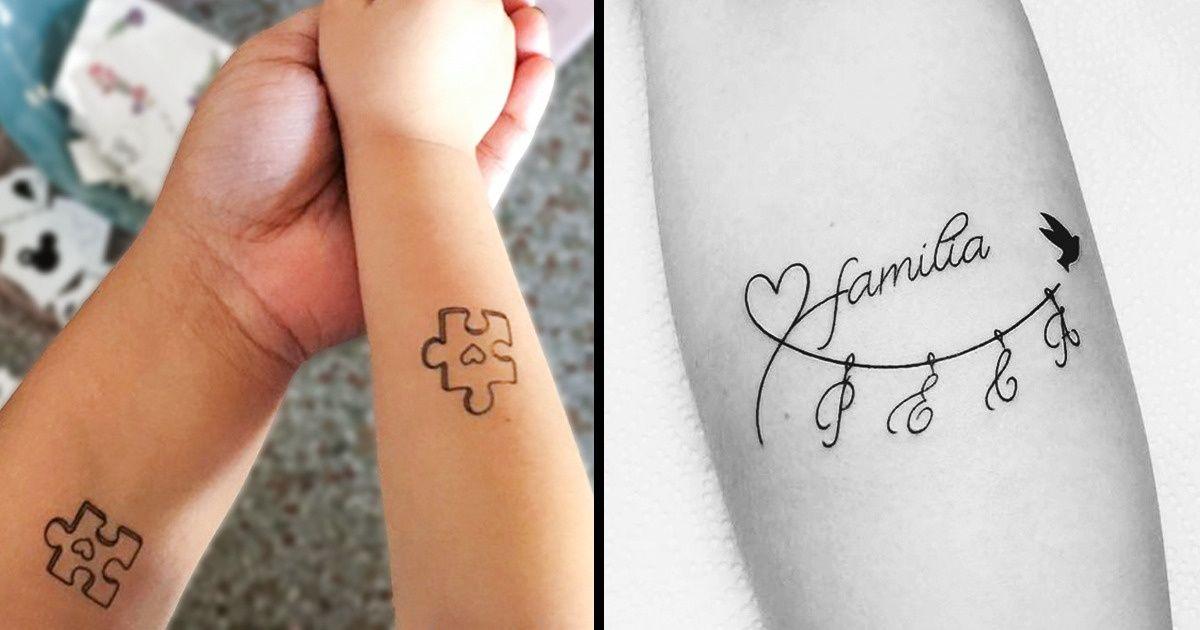 11 Tatouages Qui Symbolisent L Union Et L Amour Familial