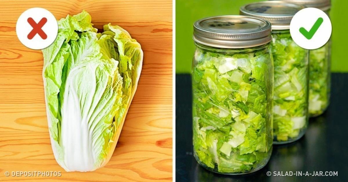 10Astuces pour que tes aliments restent frais plus longtemps