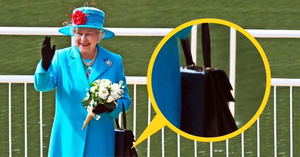 Voilà pourquoi lareine d'Angleterre porte toujours unsac àmain
