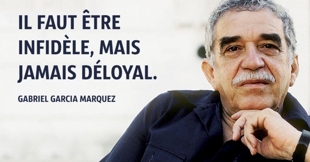 15Phrases célèbres deGabriel García Márquez