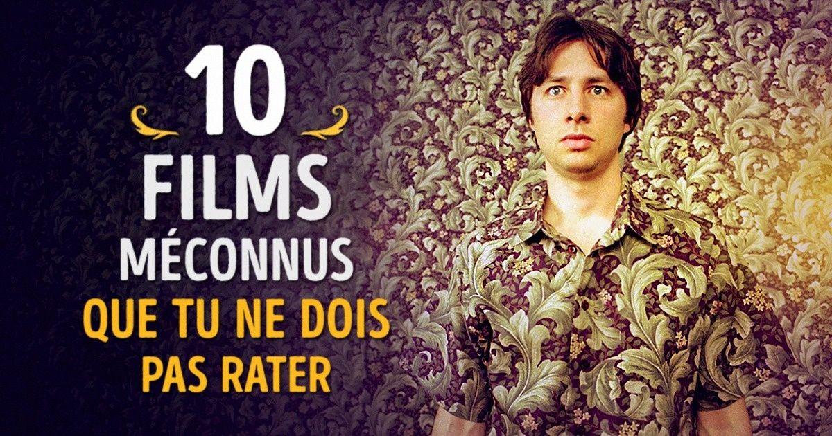 10Films méconnus àvoir absolument