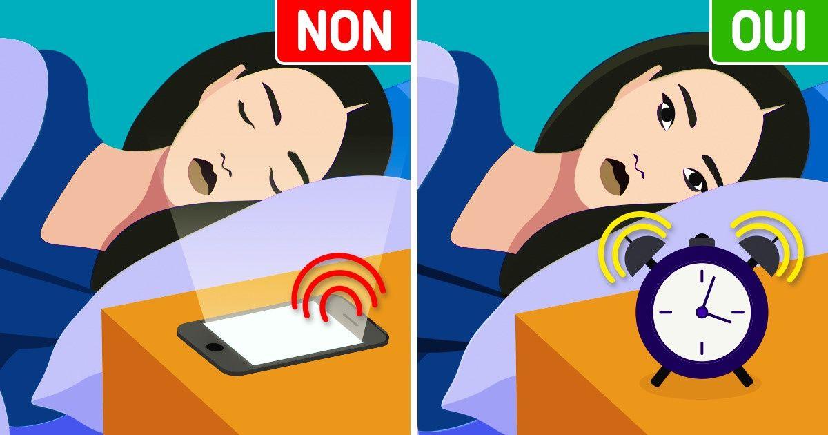 Voici pourquoi tu ne devrais pas utiliser ton smartphone comme réveil