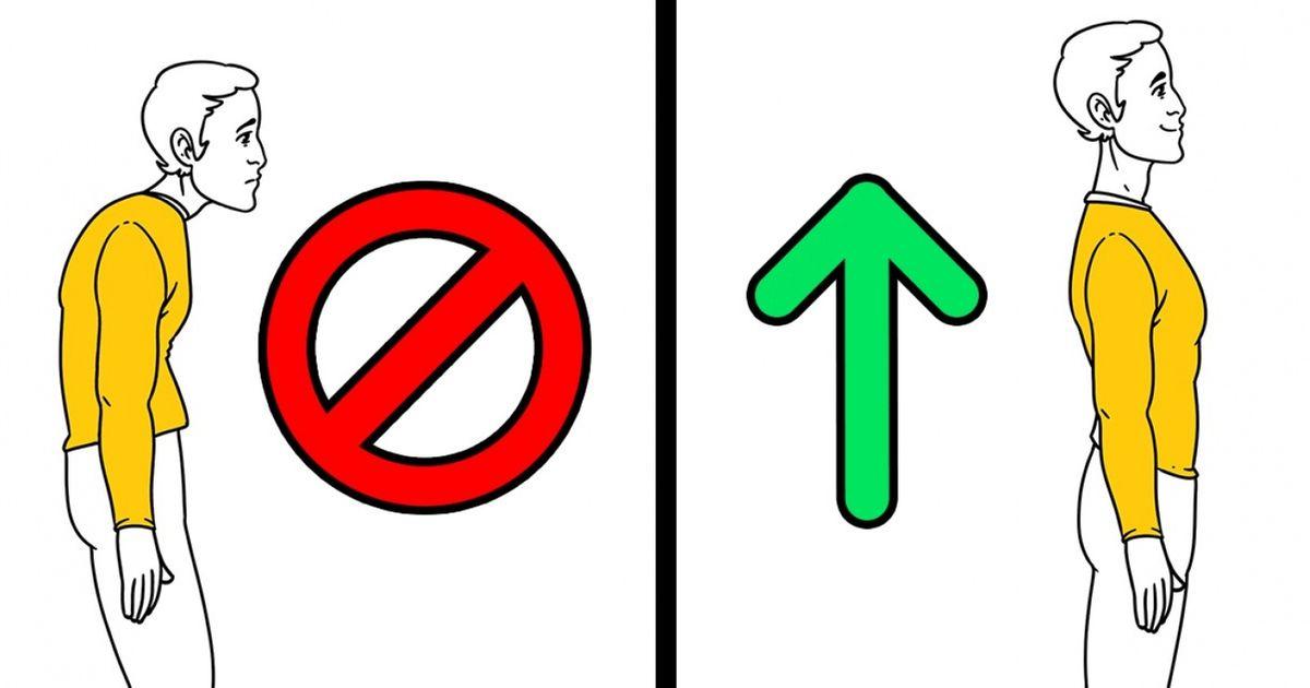 9Façons simples d'obtenir une posture parfaite