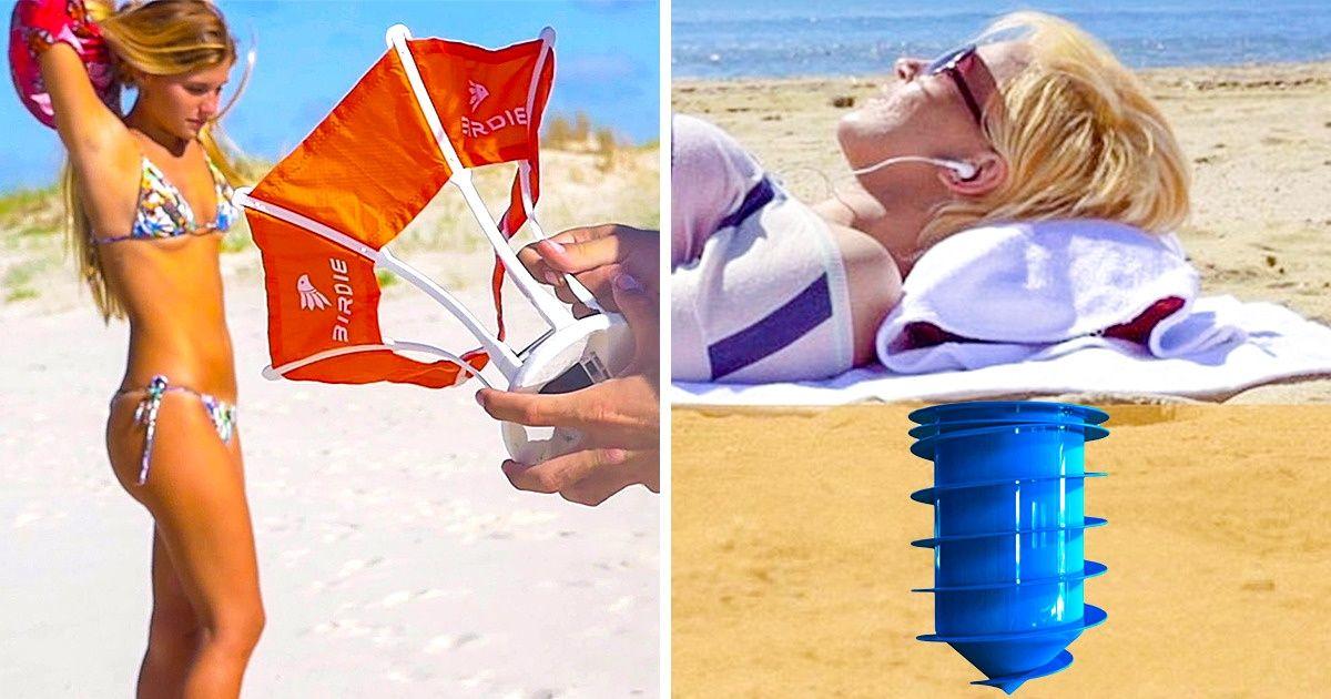 26inventions utiles pour l'été qui vont tepermettre deprofiter des vacances sans stress