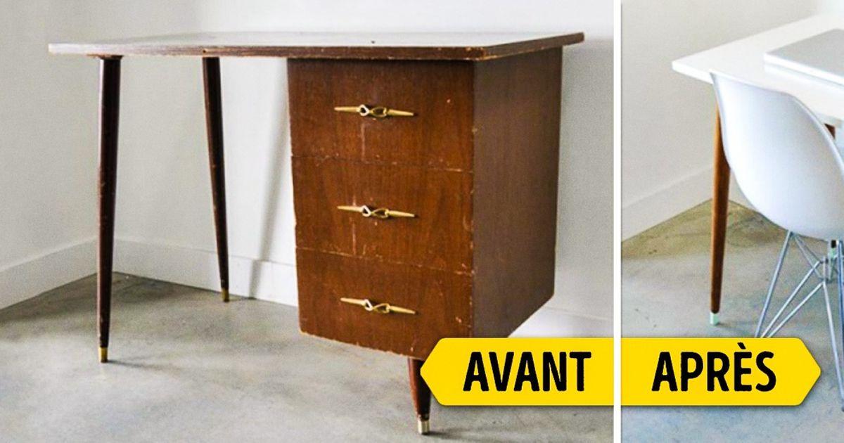 Embellis tes petits espaces enréutilisant tes meubles