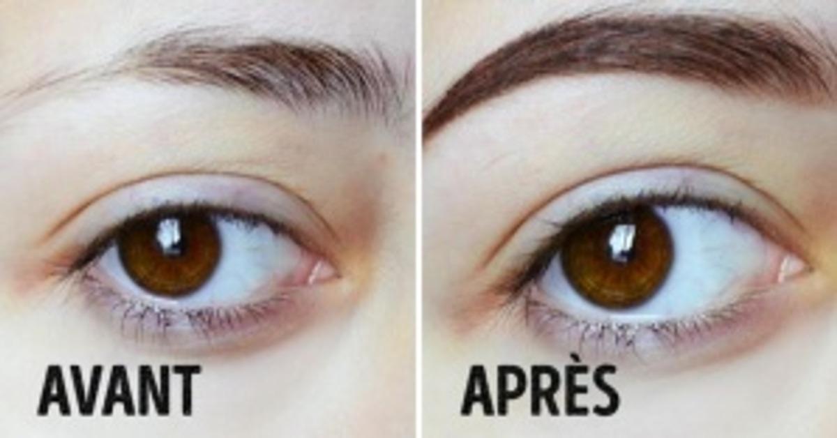10trucs pour avoir des sourcils parfaits