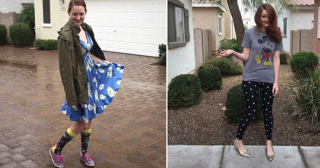 Une maman alaissé son enfant lui choisir ses vêtements pendant une semaine