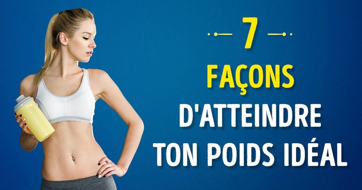 7Façons géniales degagner delamasse musculaire etd'atteindre ton poids idéal