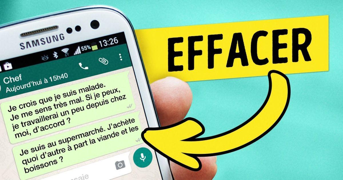 Une nouvelle option sur Whatsapp vapermettre d'annuler unmessage envoyé
