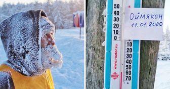 22 Photos de Yakoutie qui nous montrent le vrai froid