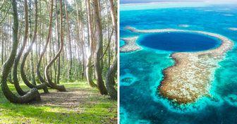20 Lieux qui prouvent que la Terre est un endroit unique et extraordinaire
