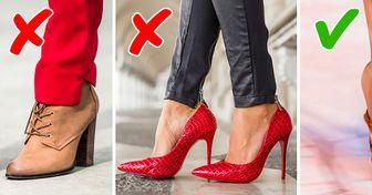 10+ Modèles de chaussures démodés qu'on peut trouver dans presque chaque garde-robe (et il est temps de s'en débarrasser)