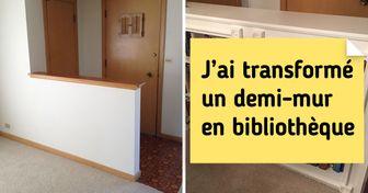 25 Internautes qui ont astucieusement rénové leur maison (et certains ont de sacrées bonnes idées)