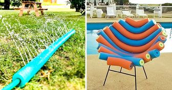 20 Formes originales et créatives d'utiliser des frites de piscine