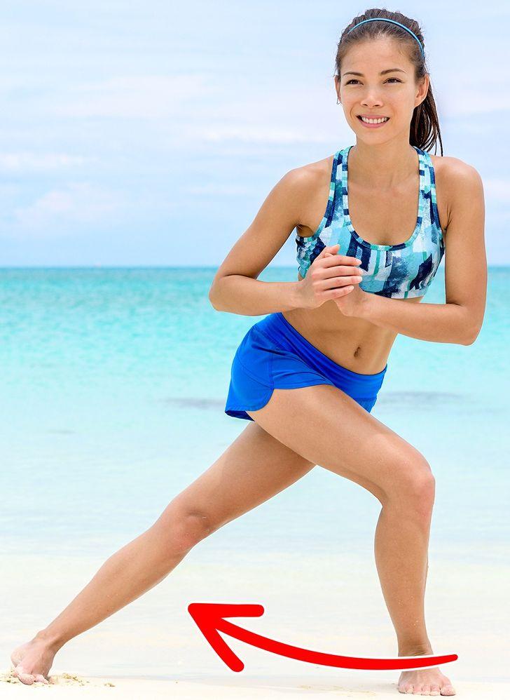 8 Exercices efficaces pour avoir de belles fesses rebondies