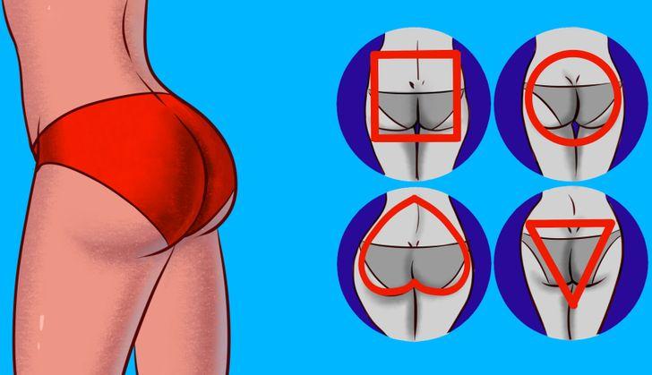 Voici ce que la forme de tes fesses révèle sur ta santé