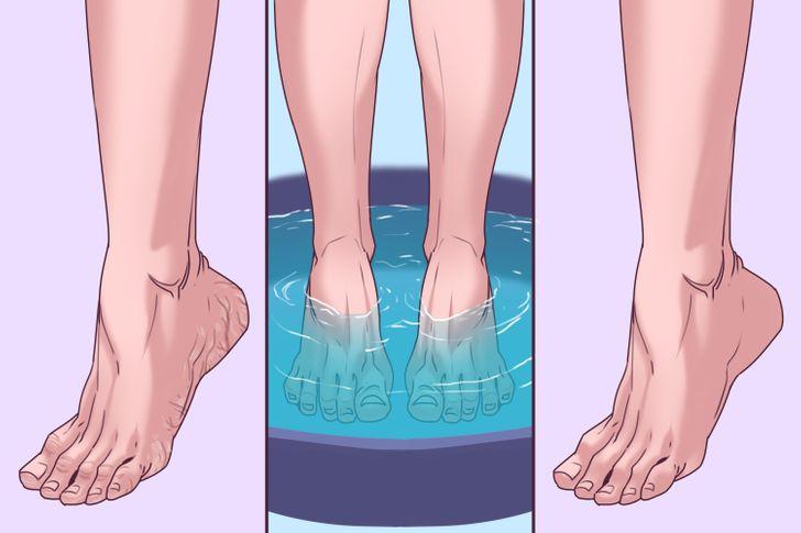 3 Bienfaits d'effectuer un bain de pieds à la Listerine