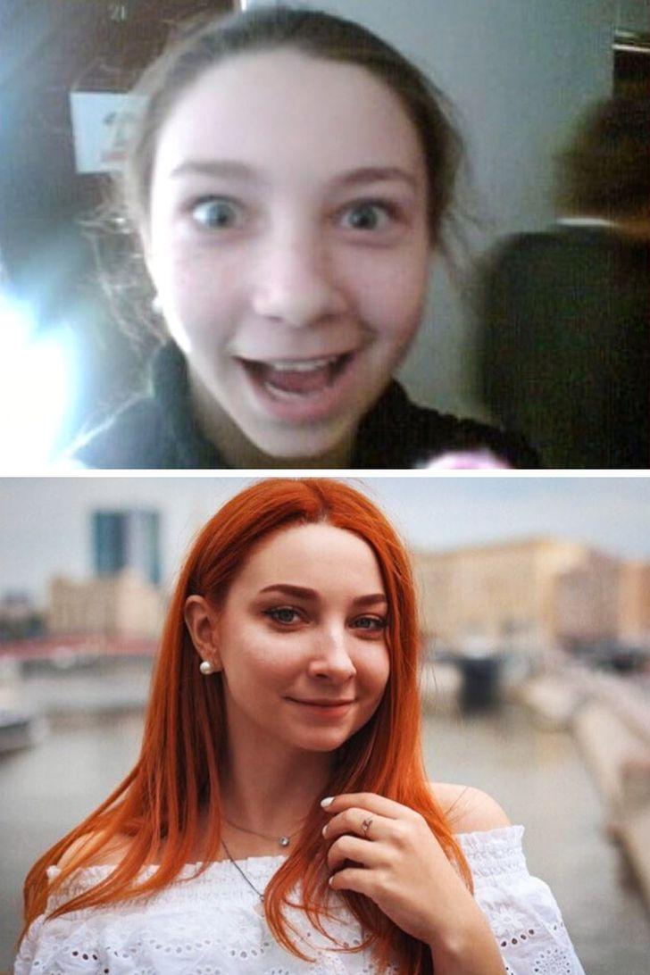 Des filles ont montré comment leur apparence a changé en l'espace de quelques années