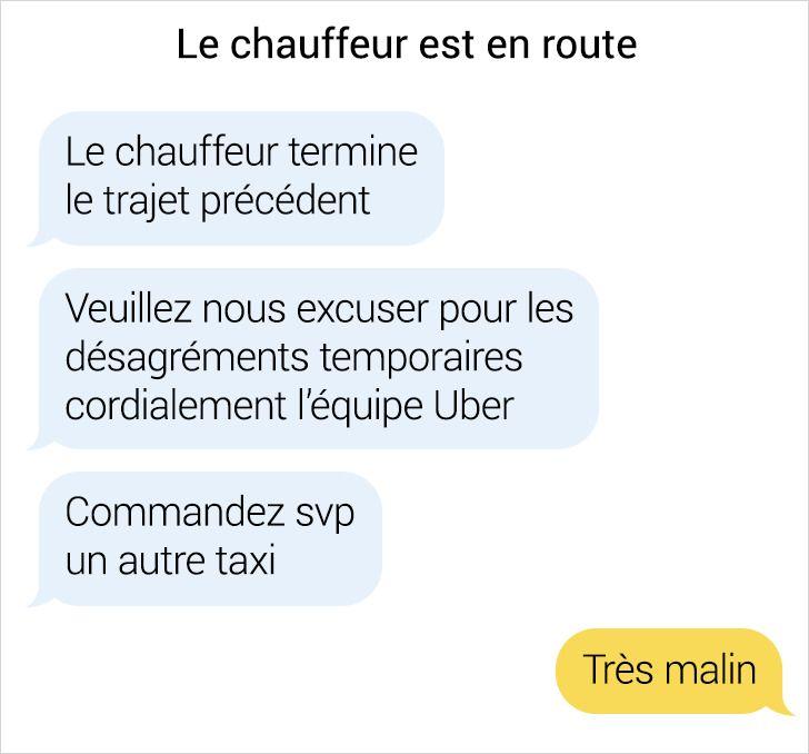 19 Conversations par SMS avec des chauffeurs de taxi qui cachent toute une histoire