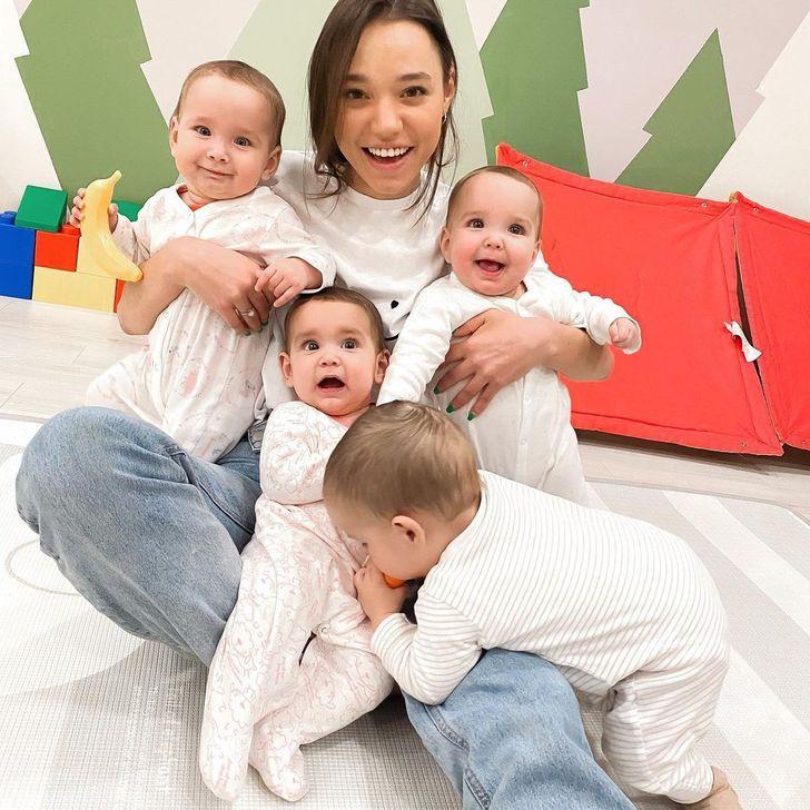 Une femme de 23 ans a déjà 11 bébés et souhaite en avoir beaucoup plus