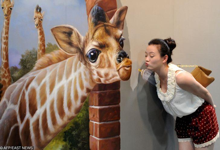 Ces 15 peintures issues d'une exposition en 3D sont saisissantes et permettent de faire des photos uniques