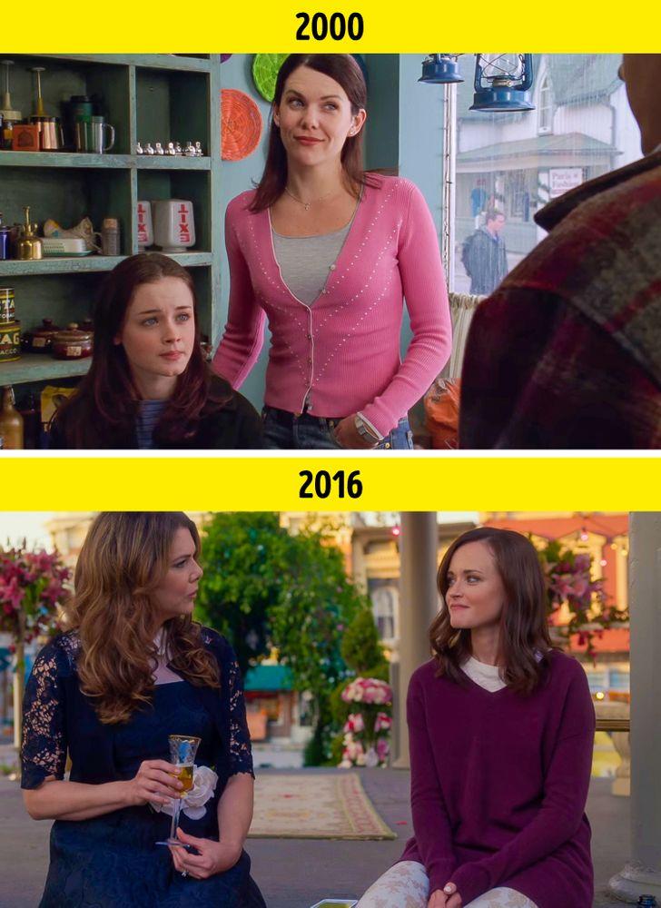 13 Comparaisons entre le premier et le dernier épisode de séries télévisées à succès