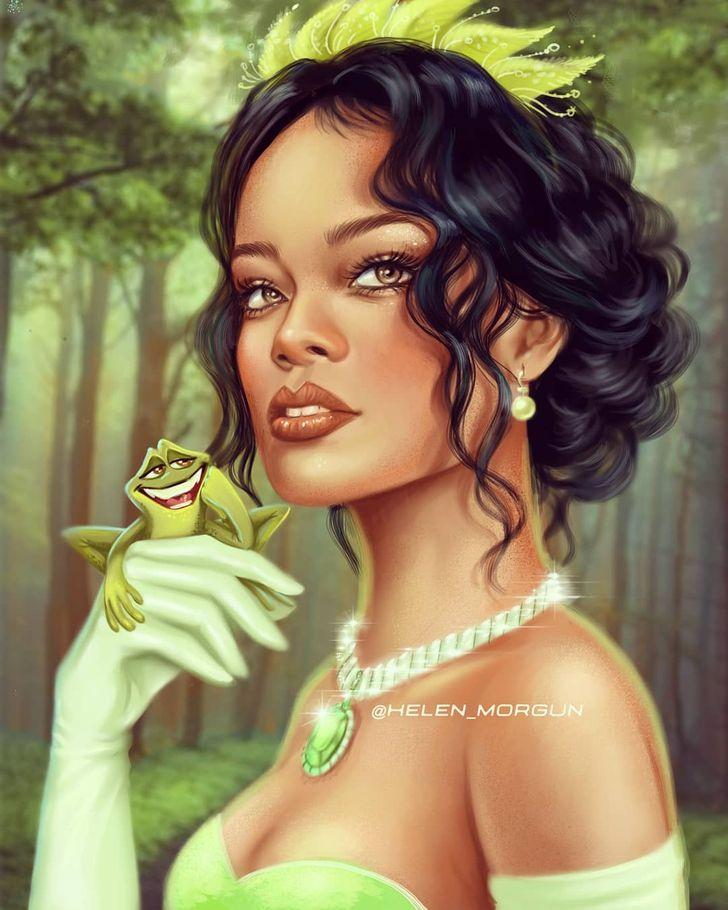 28 Femmes célèbres illustrées à la perfection en personnages de dessins animés