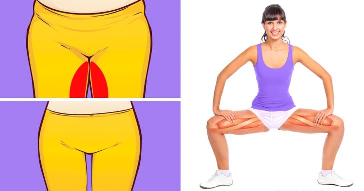 10 Exercices pour creuser l'espace entre tes cuisses qui ne te prendront que 10 minutes par jour