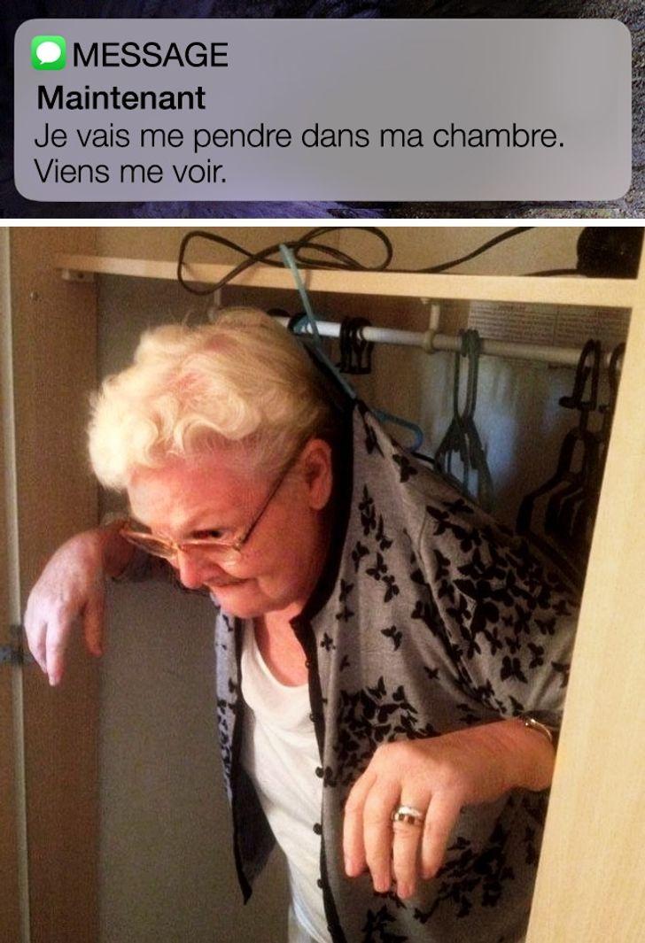 Une grand-mère qui aime ça