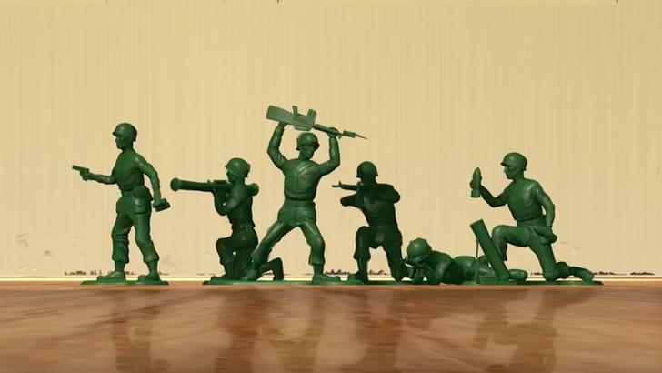 Une fillette de 6 ans a envoyé une lettre à une fabrique de petits soldats pour leur demander de faire des femmes militaires